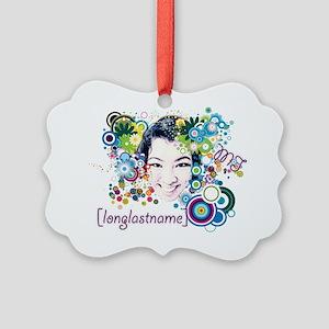 [longlastname] Picture Ornament